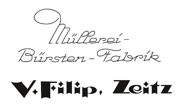 "The company known as ""V. Filip Müllerei-Bürsten-Fabrik"" is founded by Vinzenz Filip in the German town of Zeitz"