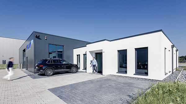 A new production and administration facility is constructed in Gütersloh
